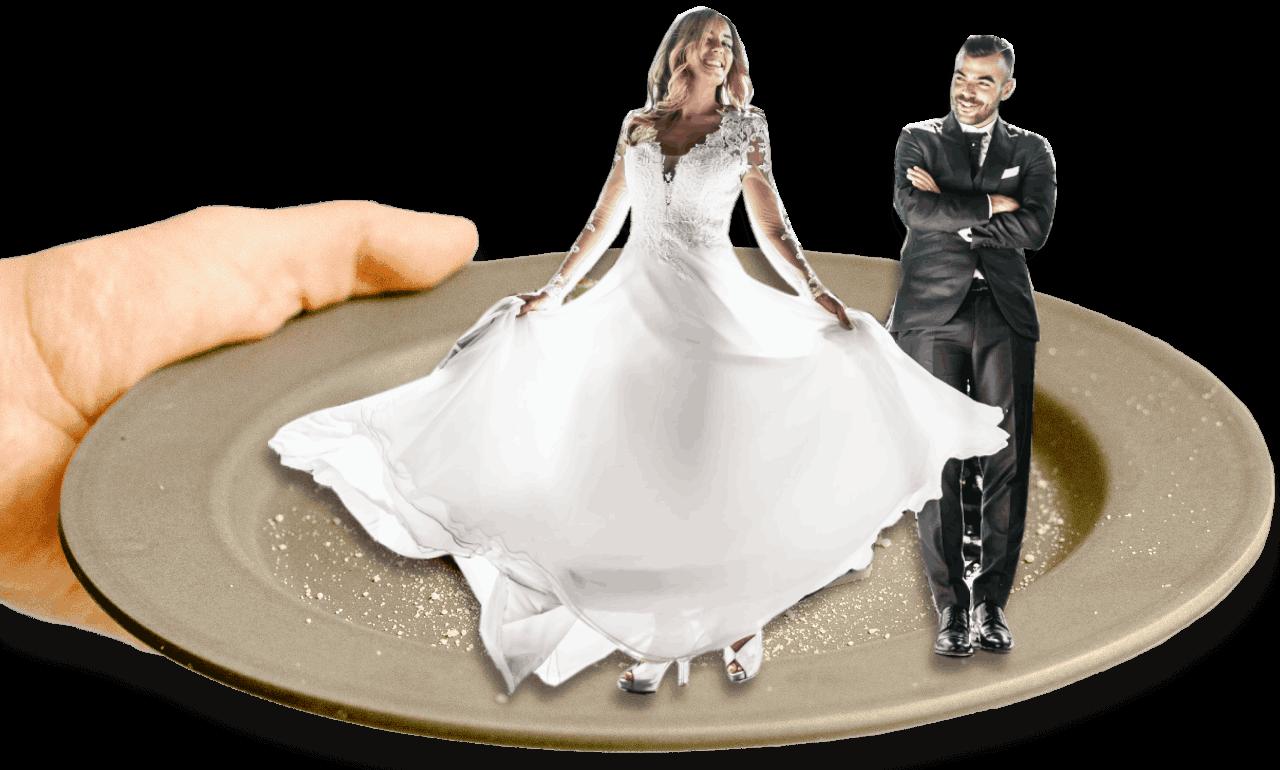 catering na svatbu- na taliri